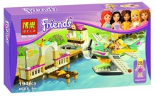 Bela 10157 Friends Flying Club Toys Gift Minifigures Building Block Minifigure Toys Compatible with Legoe