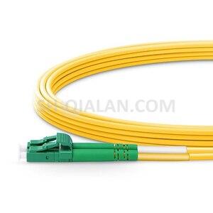 Image 3 - LC APC lc APC 光ファイバパッチコードデュプレックス 2.0 ミリメートルの pvc 光シングルモード FTTH 繊維パッチケーブル LC コネクタ