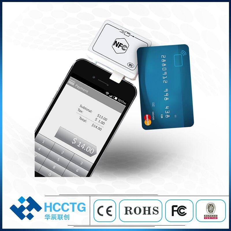 NFC de Jack de Audio de lector de tarjeta Magnética/teléfono móvil lector de tarjeta de crédito con SDK libre - 3