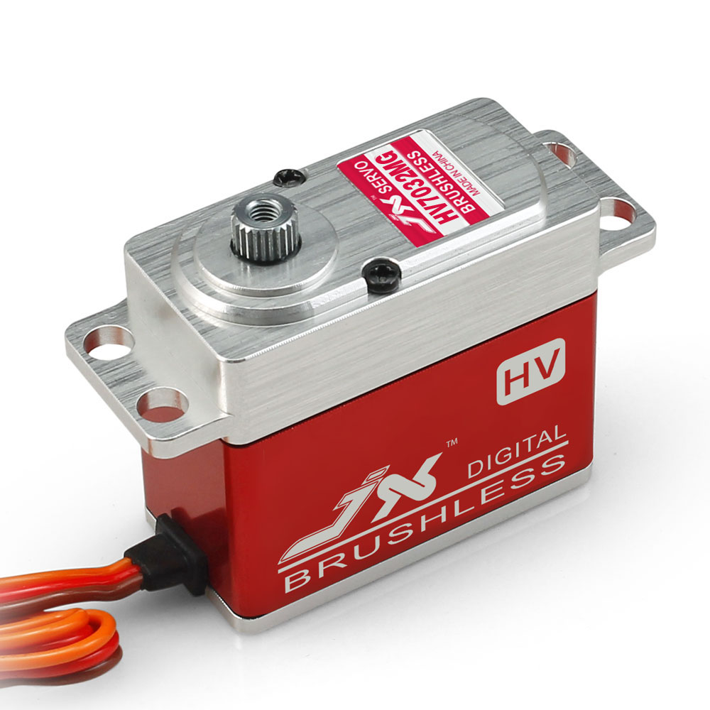 JX Servo/BLS - HV7032MG / 32 kg large torsion metal teeth all CN high-voltage brushless digital Servo jx servo pdi 7216 mg kg 16 large torque moment all metal shell digital hollow glass of steering gear