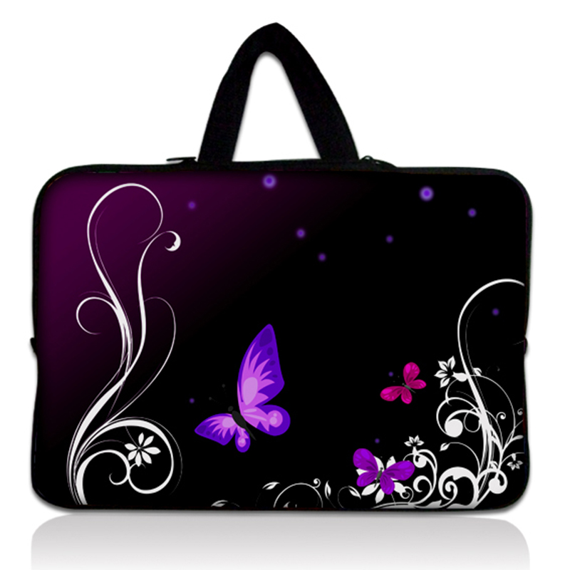 Butterfly Notebook Laptop sleeve bag case Computer cover pouch PC handbag Protective Case 14 14.4 For Dell Vostro Acer Asus HP #