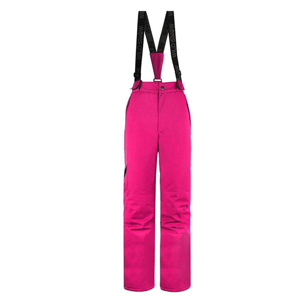 Pantalon de Ski femme pantalon de Ski imperméable coupe-vent pantalon de Ski chaud isolé dames Snowboard pantalon escalade livraison gratuite