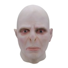 Harry Potter Lord Voldemort Masque boss Latex Masks Cosplay Scary Minecraft Terrorizer Mask