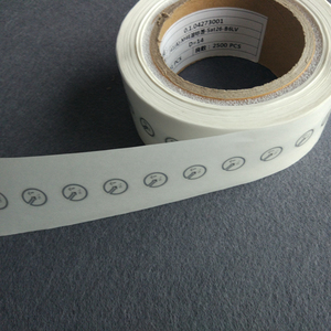 Image 2 - 860 960MHz mini short range UHF RFID J41 sticker self adhesive passive 6c RF card G2 tags 100pcs/Lot