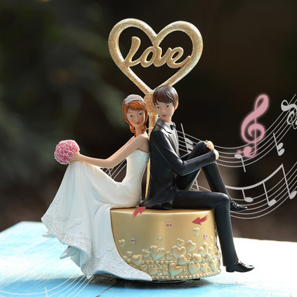 European ornaments personalized gift ideas Newlywed couple music box to send a wedding gift birthday girl friend-in Music Boxes from Home u0026 Garden on ... & European ornaments personalized gift ideas Newlywed couple music box ...