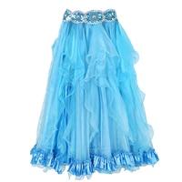 2018 Belly Dance Wear Costume Accessories Maxi Long Skirt Performance Side Split Bellydance Skirts