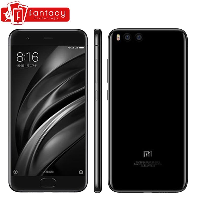 Original Xiaomi Mi6 Mi 6 Snapdragon 835 Octa Core Smartphone 6GB 64GB Fingerprint ID FDD 5