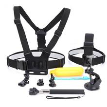 11pcs Universal Camera Accessories Set – Flotation Handle + Chest Strap For GoPro Hero 5 4 3+ 3 2 1 Action Camera