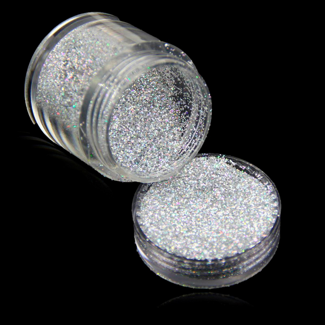 COSPROF NUEVA Marca Nail Art Polvo de Cromo Metálico Mirror Efecto ...