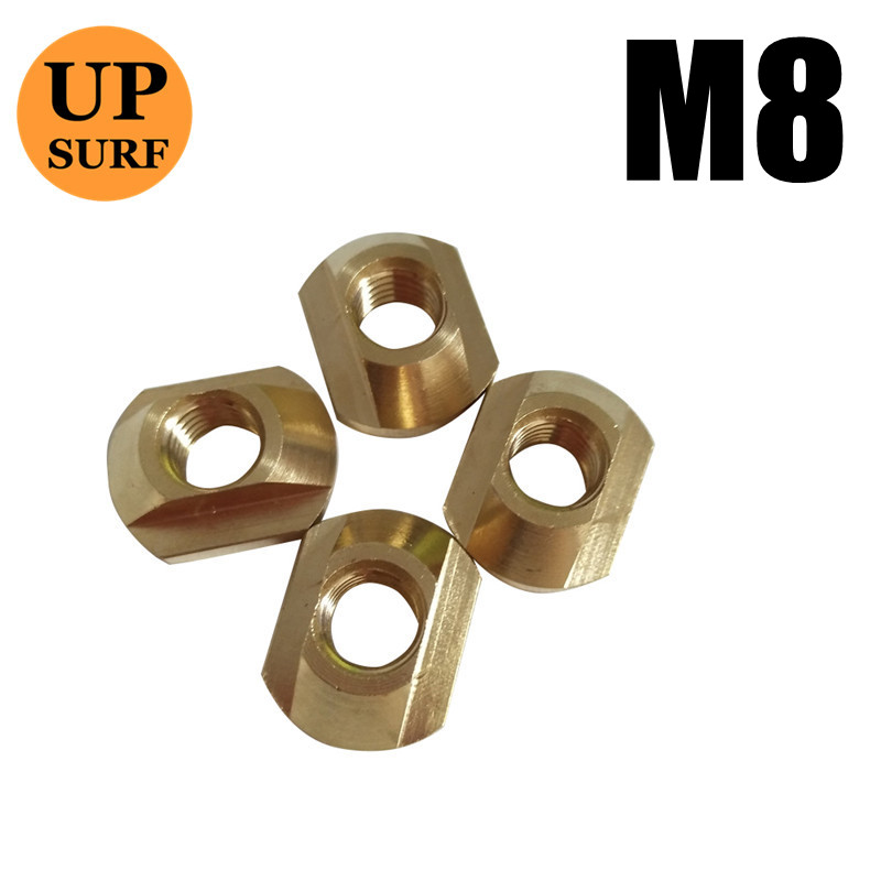 FoilMount Size M8 Hydrofoil Mounting T-Nuts For All Hydrofoil Tracks And M6 Size