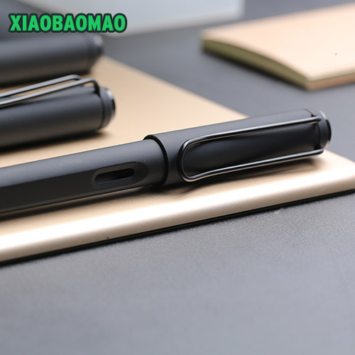Image 4 - High grade business Fountain Pen Silicone Grip Extra Fine Nib (0.38 mm / 0.5mm) Black Body-in Fountain Pens from Office & School Supplies on AliExpress