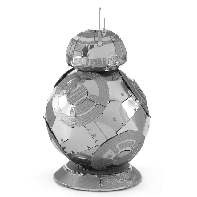 C3PO open soon Star Wars 3D Metal assembling model PUZZLE 18 styles all 2 sheets Collection of ornaments Children's gift