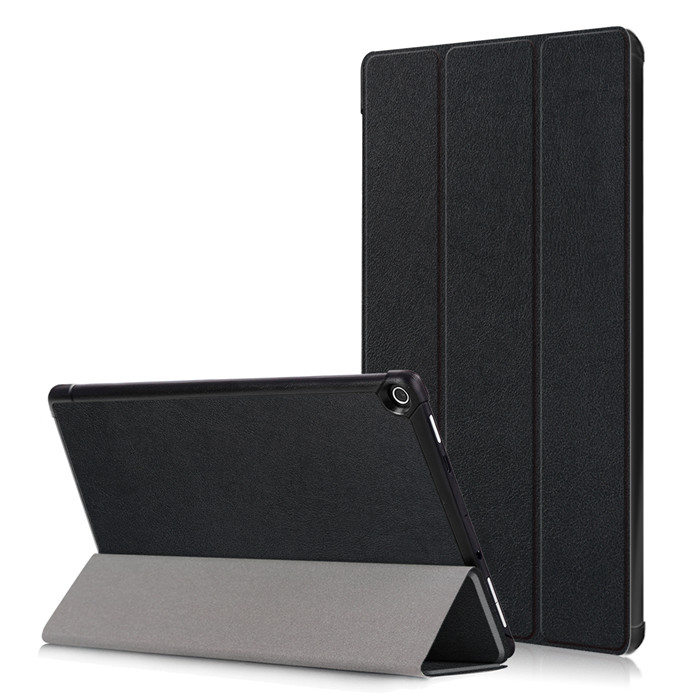 Tempered Glass Screen Protector + PU Leather Cover Case