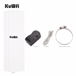 Image 1 - 3Km Outdoor Waterproof Wireless CPE Router 150Mbps Wifi Bridge Wifi Repeater Wifi Extender With 12Dbi Antenna