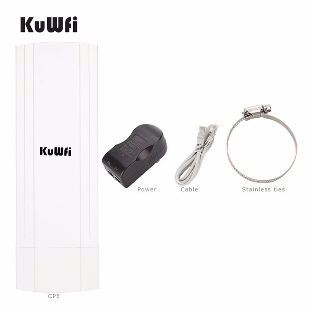 3Km Outdoor Waterproof Wireless CPE Router 150Mbps Wifi Bridge Wifi Repeater Wifi Extender With 12Dbi Antenna