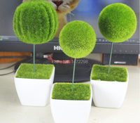 New Moss Ball Cactus Ball ARTIFICIAL GRASS HOME GARDEN EASTER DECORATION ORNAMENT 2 Style