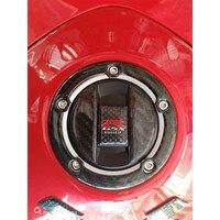 3D Real Carbon Gas Cap Tank Pad Filler Cover for GSXR 600 GSXR 750 GSXR 1000 K1 K2 K3 K4 K6 K7 K8 K9 L1 DL650 DL1000 B-KING1300