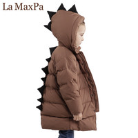 2018 New Brand Boys Coat & Jackets For Children Outerwear Clothing 2018 Cartoon Dinosaur Baby Boy Clothes Spring Boy Down Coats