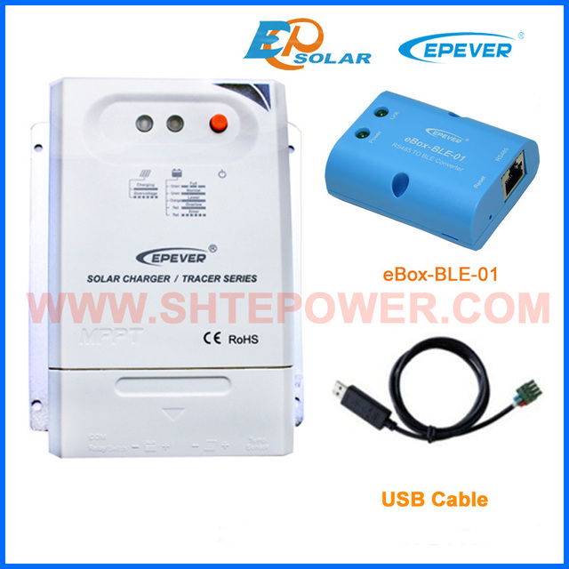 mppt controller Bluetooth function 30A 30amp Tracer3210CN factory direct price with USB
