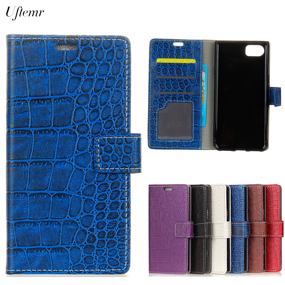 Uftemr Vintage Crocodile PU Leather Cover for ASUS Zenfone 3s Max ZC521TL Silicone Case Wallet Card Slot Phone Acessories