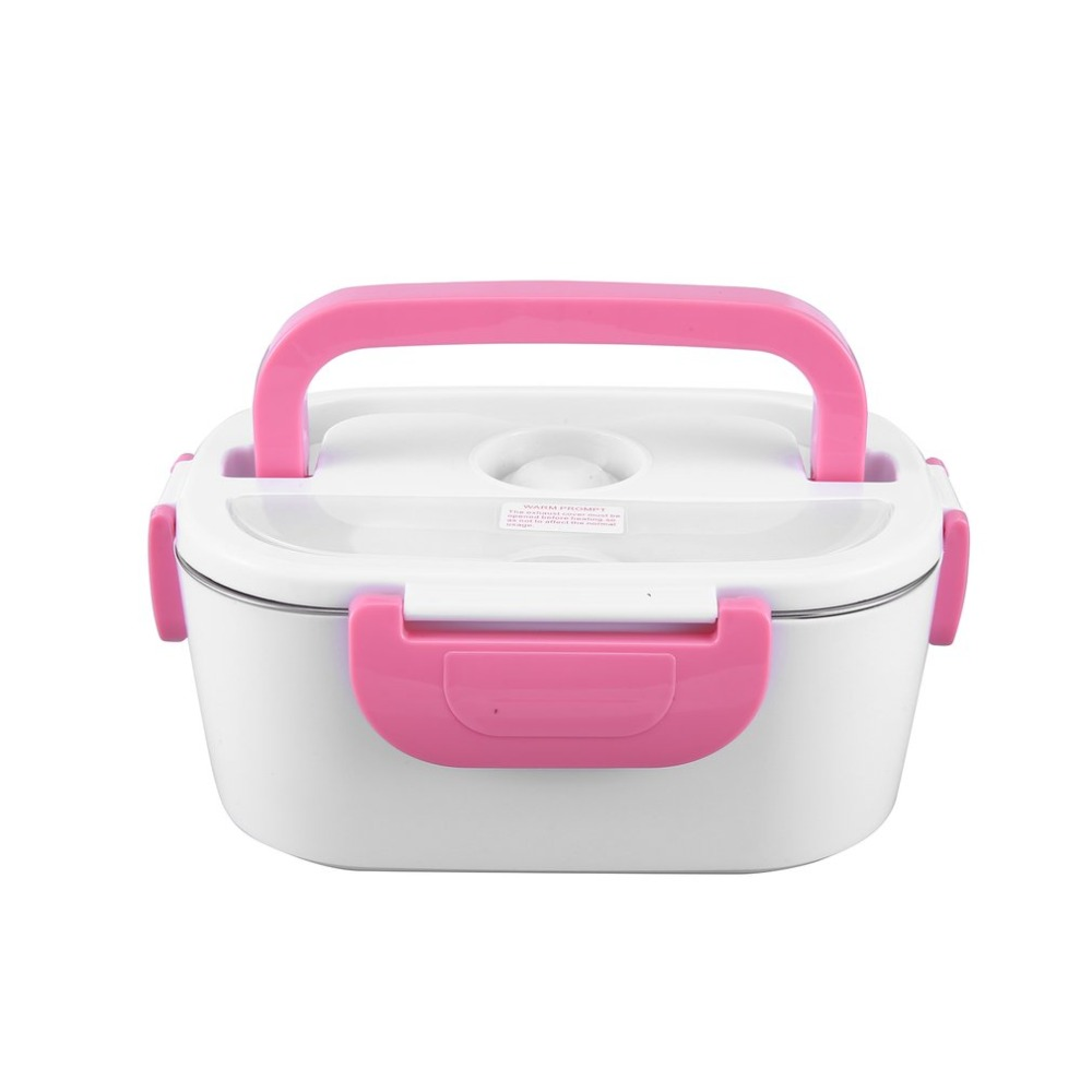 US/EU Double Layer Heated Lunch Box Portable Electric Heating Food Storage Box Food Warmer Electric Lunch Box For Kitchen ToolUS/EU Double Layer Heated Lunch Box Portable Electric Heating Food Storage Box Food Warmer Electric Lunch Box For Kitchen Tool