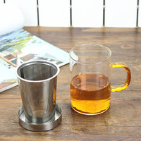Heat Resistant Glass cup,teapot with lid steel filter/strainer,coffee,Home office Dinkware,pu'er/Milk oolong/white tea Cha