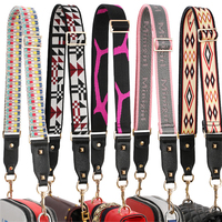 3.8cm Wide Canvas Nylon Strap For Shoulder Bag Strap Leather Handbag Handles Belt Accessories Adjustable Long 85 130cm Kz151371