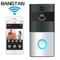 Wireless Doorbell Ring Chime Door Bell Video Camera WiFi IP 1MP 720P Waterproof IR Night Vision