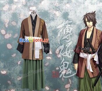 Hakuouki Shinsengumi Kitan Okita Soji Cosplay H008