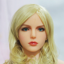 2017 Newest Top Quality Head 51# Big Doll's Head Natural Skin Sex Doll Head for Silicone Sex Doll Suit For More Than 140cm Doll
