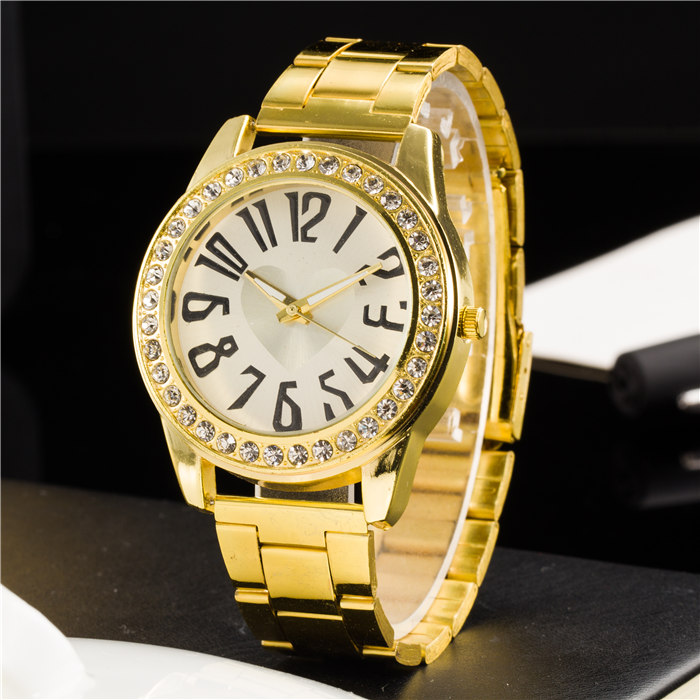 New Ybotti Famous Brand Gold Crystal Butterfly Casual Quartz Watch Women Stainless Steel Watches Relogio Feminino Clock Hot Sale mcykcy new famous brand casual quartz watch men gold stainless steel fashion dress watches relogio masculino unisex clock hot
