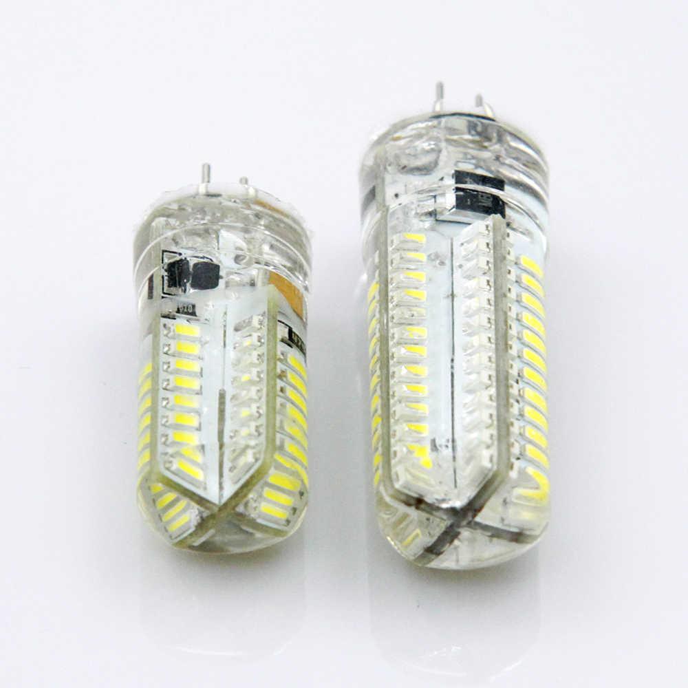 YNL светодиодный G4 3014 SMD 3 W 5 W DC 12 V G4 Светодиодный светильник 20 W галогенная лампа g4 светодиодный 12 v кукурузная лампа силиконовые лампы люстры освещение