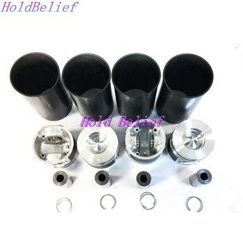 Zestaw pierścieni tłokowych 8-98017166-0 tuleja cylindrowa zestaw dla silnik Isuzu zestaw do odbudowy 4HK1 4HK1T darmowa wysyłka