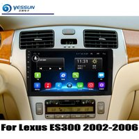 For Lexus ES300 2002 2006 For Toyota Windom XV30 Car Radio CD DVD Player GPS Navigation Android System HD 9 Screen Multimedia