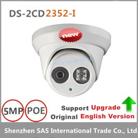 Hikvision 5MP WDR EXIR Turret Network Camera DS 2CD2352 I Dome IP Camera Weather Proof Protection