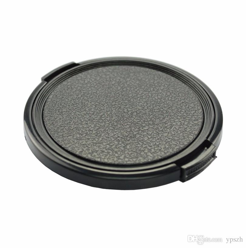 40.5mm 43mm 49mm 52mm 55mm 58mm 67mm 72mm 77mm Center Pinch Snap-on Front Lens Cap For Camera Lens Filters With String PA262
