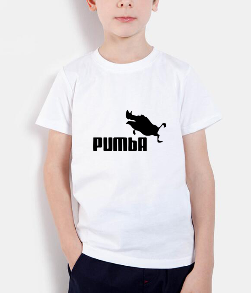 2018 summer new fashion kids t shirt funny tee cute t shirts homme Pumba printing children short sleeve casual o neck shirts bird printing kids short sleeve t shirts streetwear homme summer t shirt 2018 casual o neck t shirt children baby girl clothes