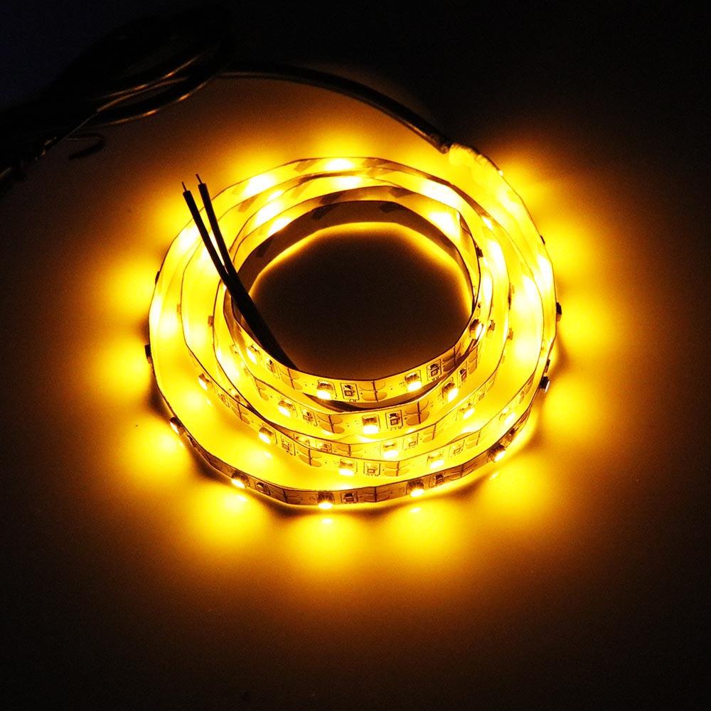 USB-ledare 5V 60leds / m RGB 7 färger lampa Tape SMD 3528 SMD-chip - LED-belysning - Foto 3