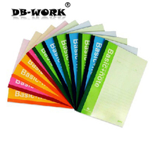 Deli capable 7652 laptop A5 soft copy diary notebook page 50 notepad business free shiping