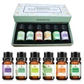 100% Pure Compound Essential Oils Fragrance for Body Massage Bath Aromatherapy Diffusers Relaxation Refreshing 10ml/pc 6pcs