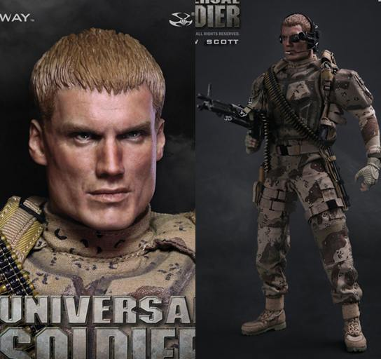 1/6 Super flexible military figure Universal Soldier Andrew Scott Dolph Lundgren 12 action figure doll Collectible model toy фигурка planet of the apes action figure classic gorilla soldier 2 pack 18 см