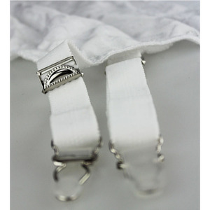Image 5 - Plus Size Women Garter Belt Female High Waist White Classic Garter Belt For Stocking Floral Lace Metal Buckles Sexy LingerieS503