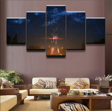 5 Pieces sword art online Anime  HD Print Painting ainting Canvas Wall Art Picture Home Decoration Living Room