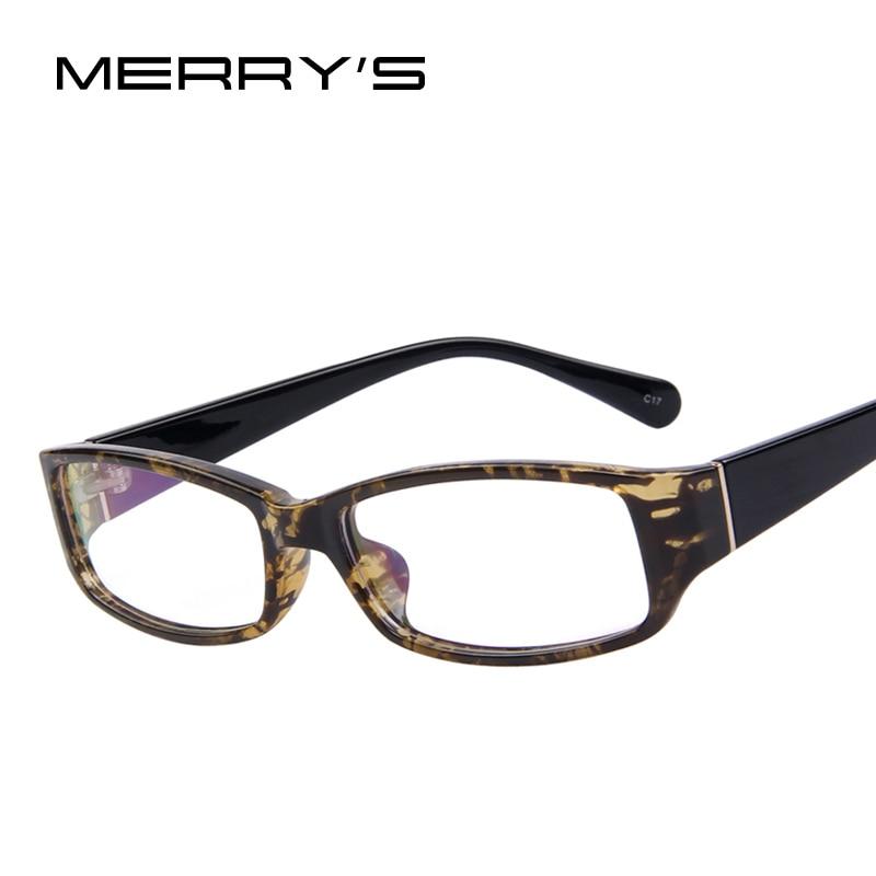 Glasses Frames Latest Fashion : MERRYS 2015 New Fashion Men Women Square Eye Glasses ...