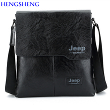 HENGSHENG JEEP men messenger bag with quality PU leather men shoulder bags men crossbody bag for fashion leather men bags