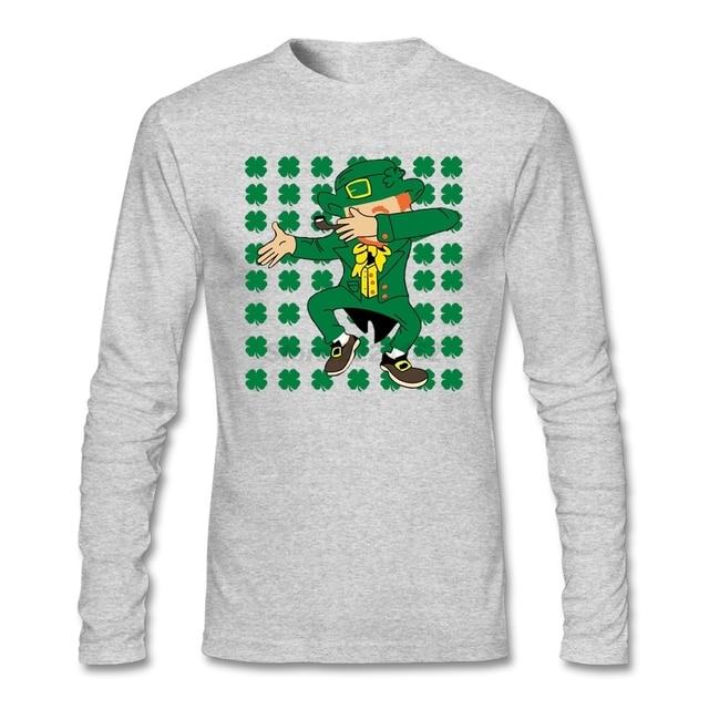 Versteckt Leprechaun T Shirt Mann Creation Weiss Musical T Shirts Mit