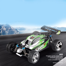 RC Bil WLtoys A959 2.4G 1/18 Scale Fjernbetjening Off-road Racing Bil High Speed ​​Stunt SUV Toy Gave til Boy RC Mini Car
