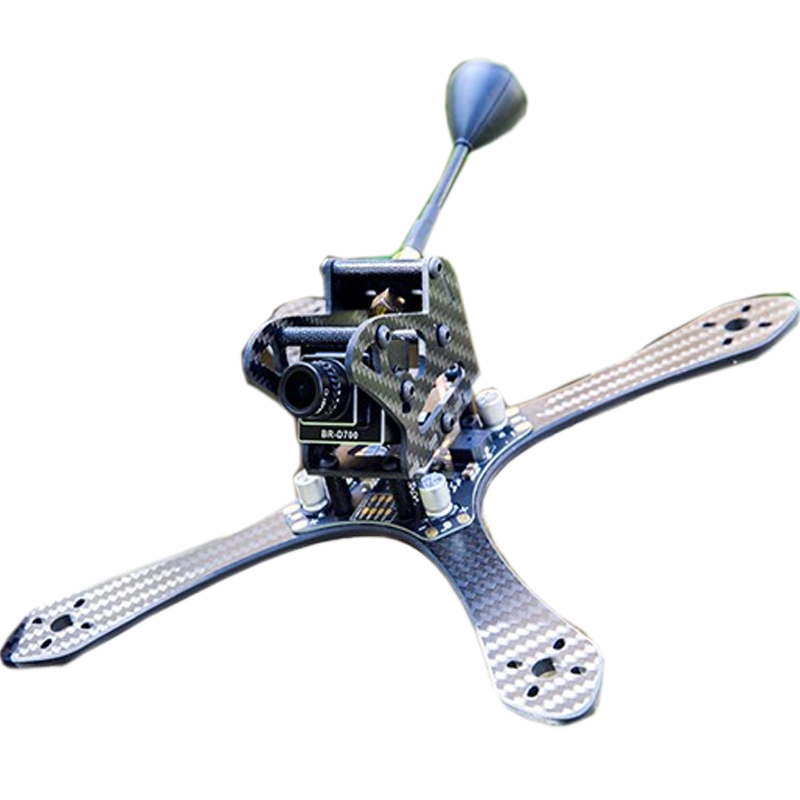 ФОТО BeeRotor ThunderBolt 215 Frame 4mm FPV Race Drone Quadcopter with PDB Board TB215