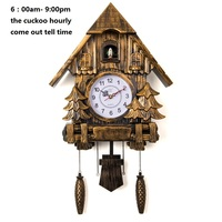 Cuckoo Clock Fashion Living Room Wall Clock call Day Time Only 20inch Alarm Clock Quality Swing Wartch Modern Battery Wall Clock