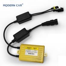 цена на MODERN CAR 1pcs 35W Gold Digital Slim Hid Ballasts Enhanced Canbus Hid Xenon Ballast Universal Block Ignition Electronic Ballast